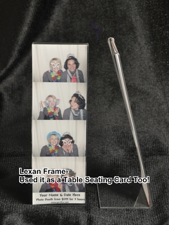 Photo Strip Frame/Seating Card